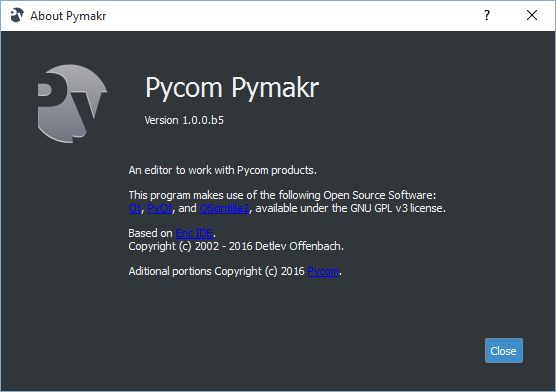 pymakr